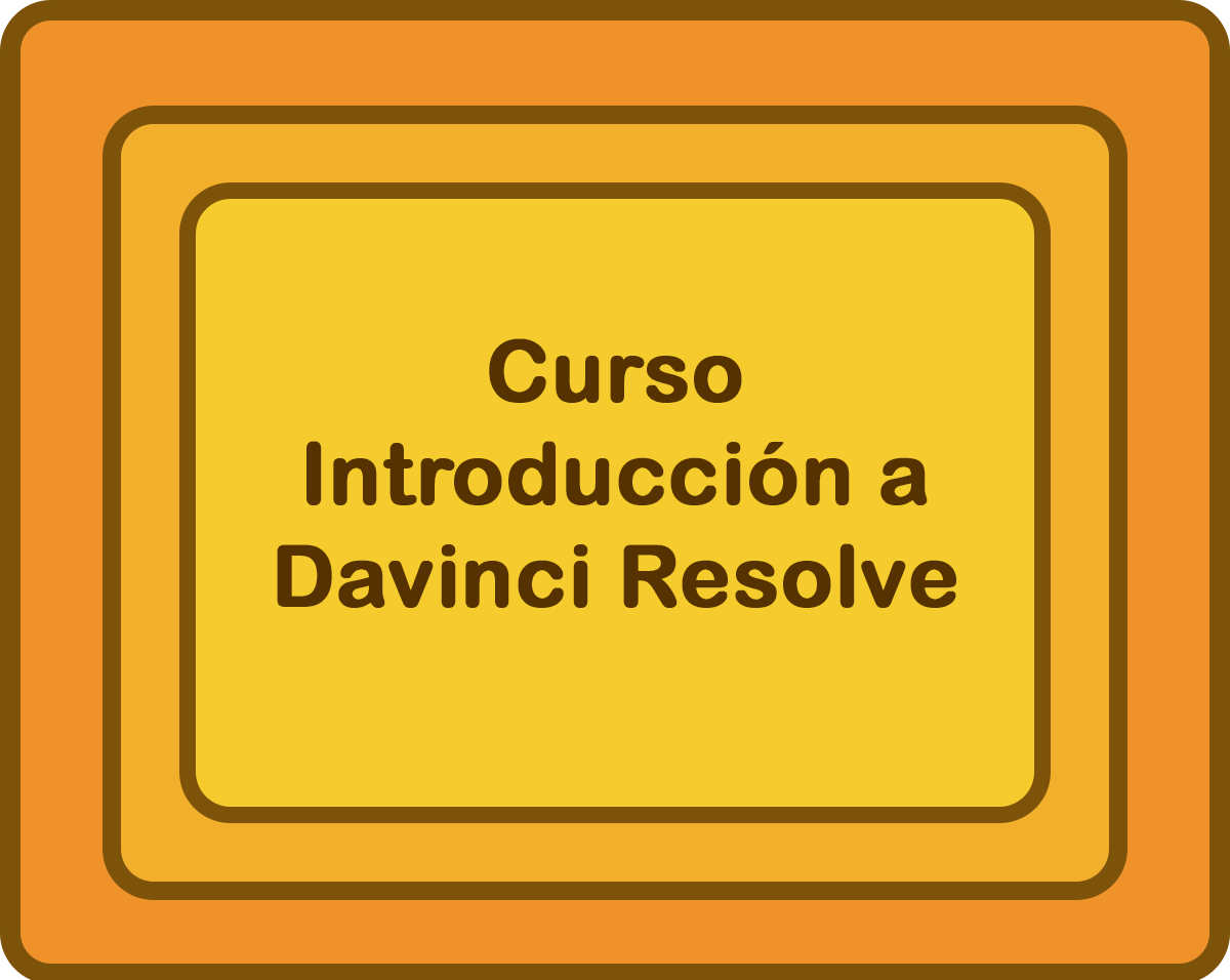 Curso 'INTRODUCCIÓN A DAVINCI RESOLVE'